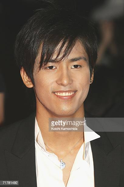 South Korean singer K attends the Japanese Premiere of 'The Lake House' on September 4 2006 in Tokyo Japan The film will open on September 23 in Japan