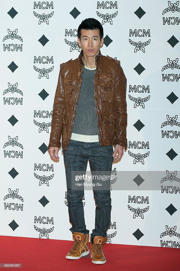 South Korean singer Sean (Jinusean) attends the MCM S/S 2014 Seoul Fashion Show at Lotte Hotel on November 26, 2013 in Seoul, South Korea.