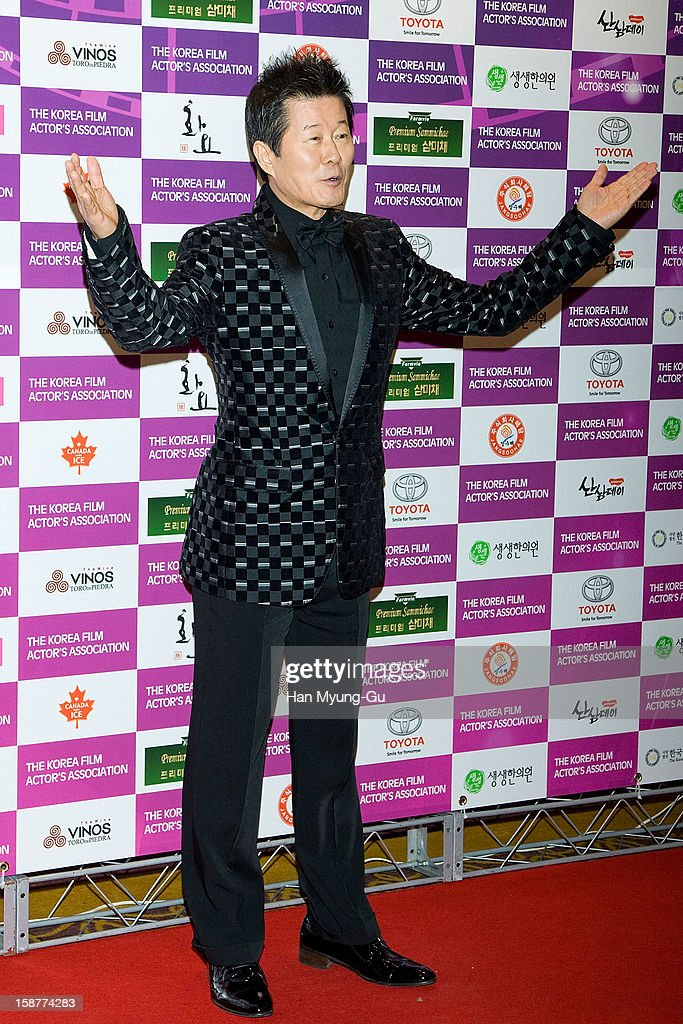South Korean singer Tae Jin-Ah attends the Year End Party hosted by The Korea Film Actor's Association at Lotte Hotel on December 28, 2012 in Seoul, South Korea.