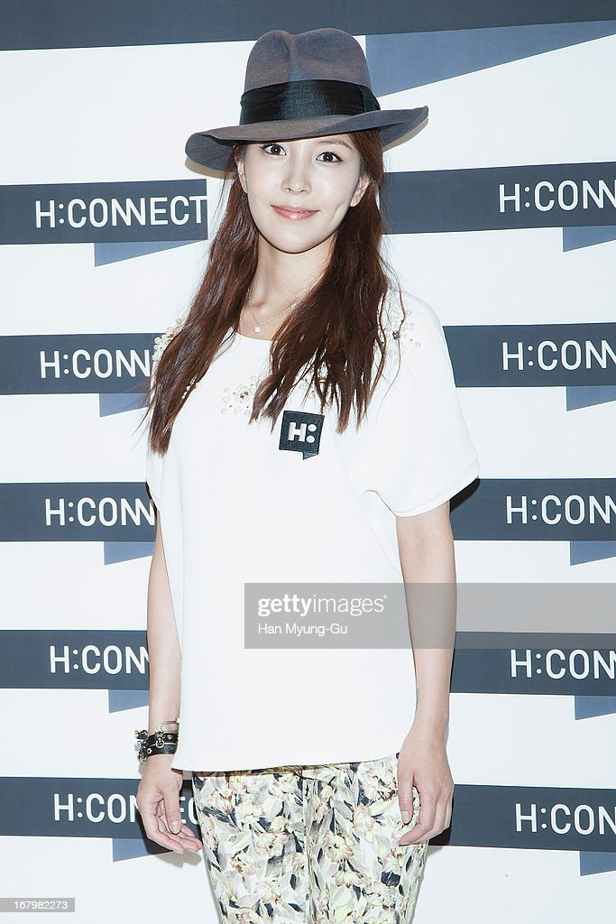 South Korean South Korean singer BoA Kwon attends a promotional event for the 'H:Connect' Gangnam Flagship Store Opening on May 3, 2013 in Seoul, South Korea.
