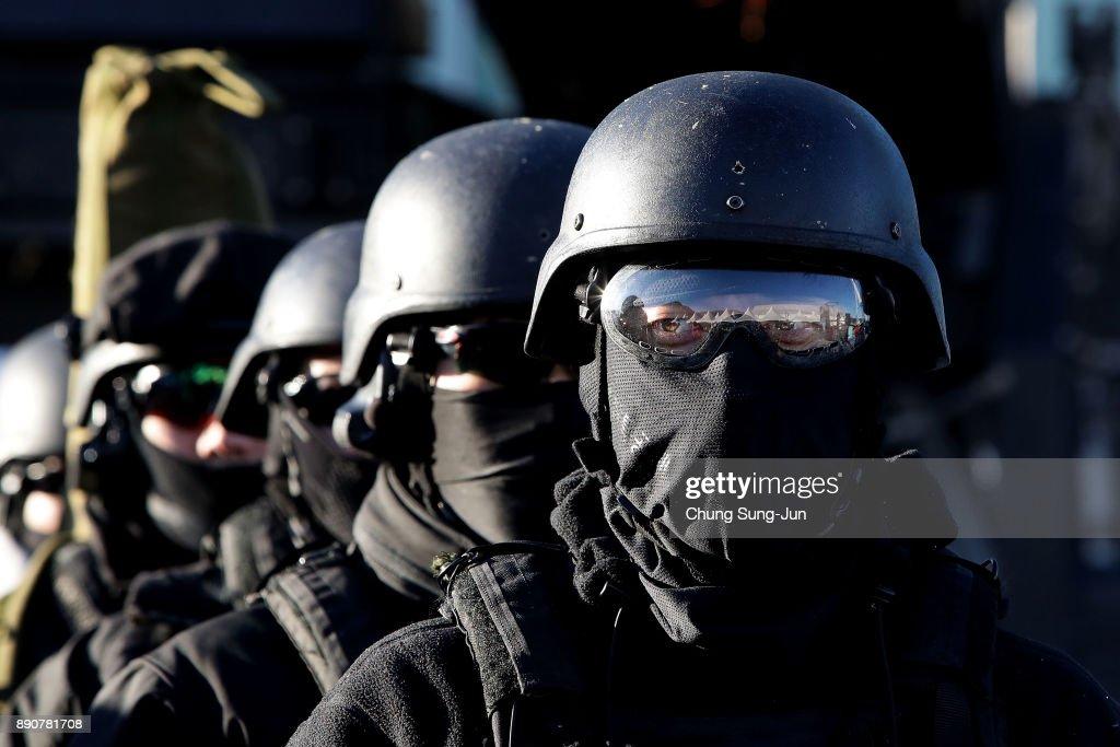 Anti Terror Exercises in Preparation for 2018 Winter Olympics
