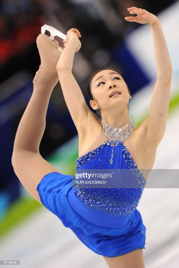 South Korea's Yu-Na Kim performs in the Ladies' Free skating program at the Pacific Coliseum in Vancouver, during the 2010 Winter Olympics on February 25, 2010. AFP PHOTO / YURI KADOBNOV