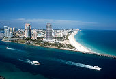 South Miami Beach aerial view