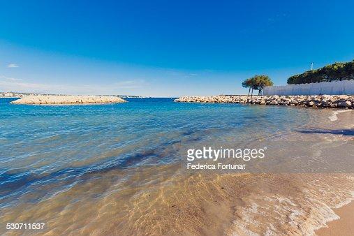 South of France beach