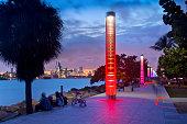 South Pointe Park, Miami Beach, Florida