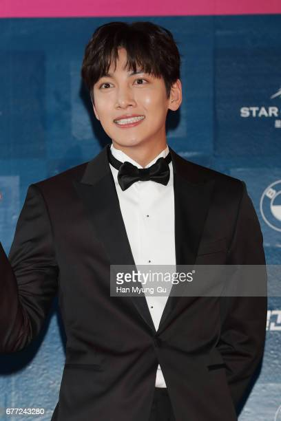 South South Korean actor Ji ChangWook attends the 53rd Baeksang Arts Awards at COEX on May 3 2017 in Seoul South Korea