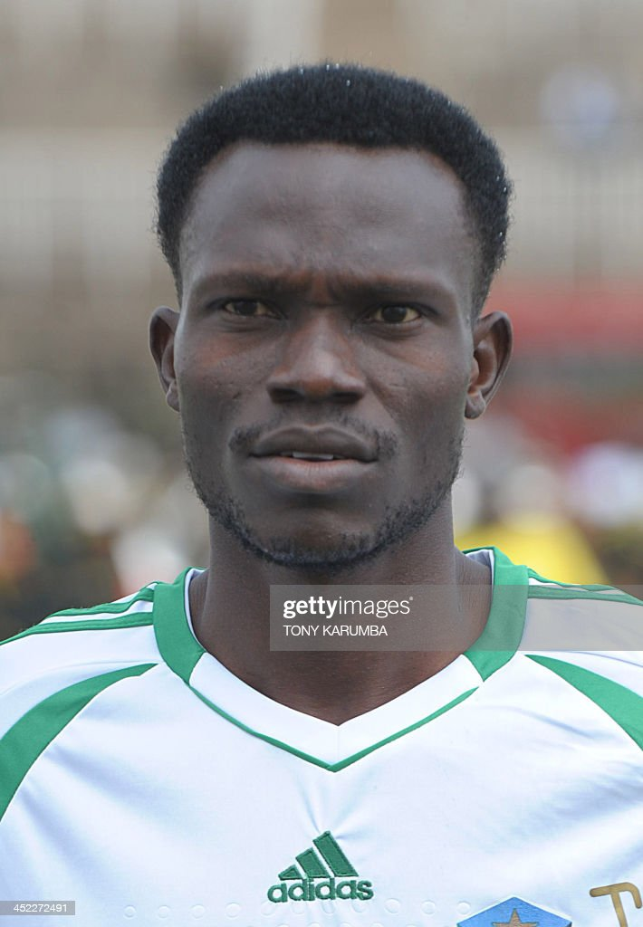 South Sudan's Philip Delfino poses ahead of the Council for East and Central Africa Football Associations (CECAFA) Cup football tournament match between South Sudan and Zanzibar in Nairobi, on November 27, 2013.