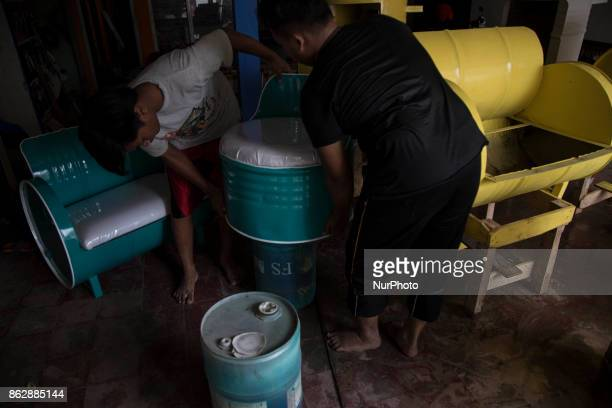South Tangerang Indonesia 18 October 2017 Garbage recycle is one part of Garbage Management that concern in Indonesia Banten as one of the province...