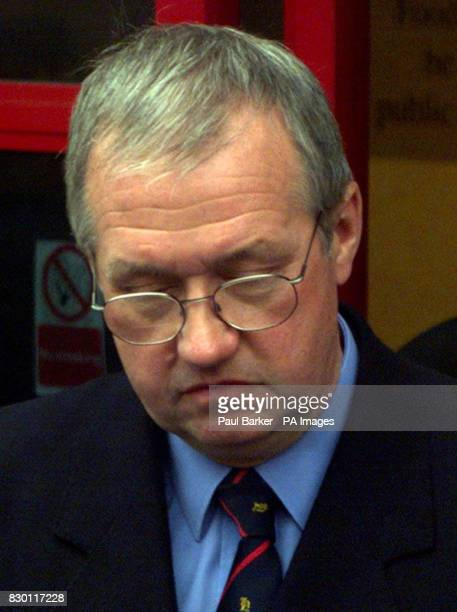 South Yorkshire Police Superintendent David Duckenfield arrives at Leeds Magistrate Court today He faces allegations that they unlawfully killed John...