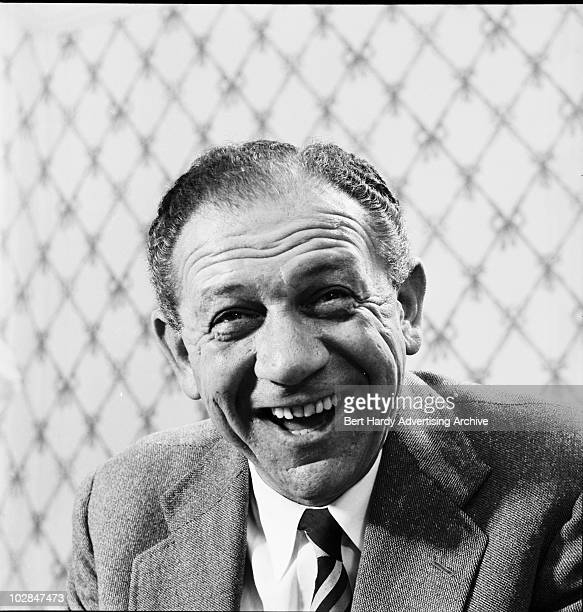 SouthAfrican comic actor Sid James Ealing London 30th July 1960