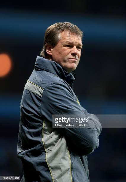 Southampton assistant manager Erwin Koeman