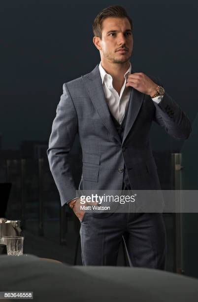 Southampton FCs Cedric pictured for the Saints match day magazine at Southampton's new fivestar superyacht inspired hotel The Southampton Harbour...
