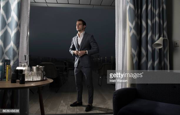 Southampton FC's Cedric pictured for the Saints match day magazine at Southampton's new fivestar superyacht inspired hotel The Southampton Harbour...