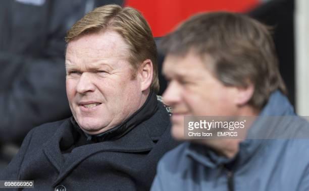 Southampton manager Ronald Koeman and brother Erwin