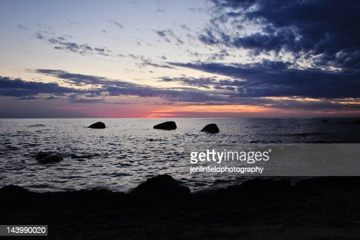 Southampton ontario beach sunset