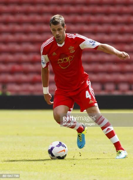 Southampton's Morgan Schneiderlin during the Preseason Friendly at St Mary's Stadium Southampton
