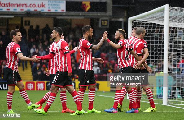 Watford v Southampton - Premier League - Vicarage Road : News Photo