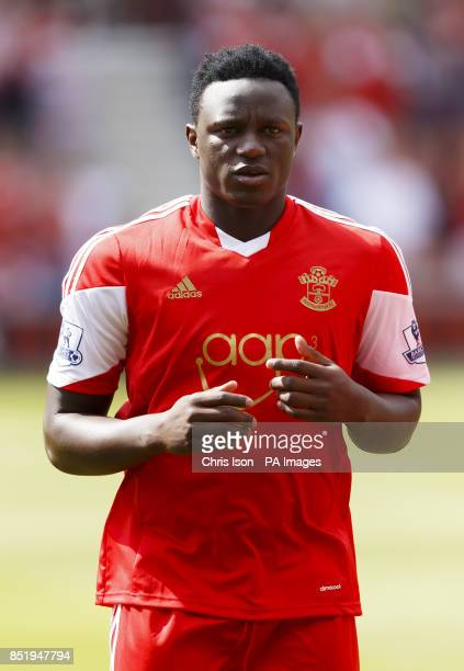 Southampton's Victor Wanyama during the Preseason Friendly at St Mary's Stadium Southampton