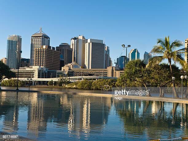 Southbank Brisbane, jardines Beach