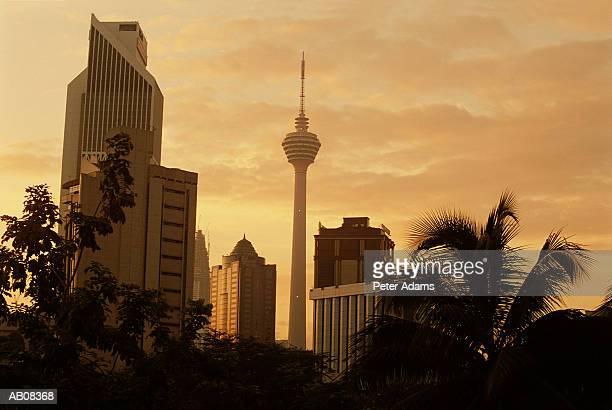 Southeast Asia, Malaysia, Kuala Lumpur, city skyline
