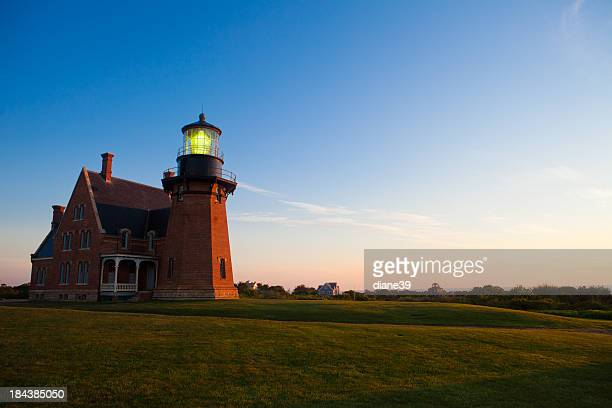 Southeast Lighthouse, Block Island at sunrise