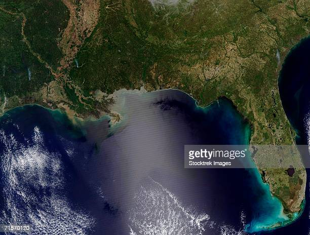 'Southeastern United States, satellite image'
