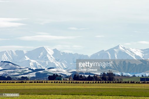 Southern Alps & Canterbury Plains