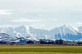 Southern Alps & Canterbury Plains