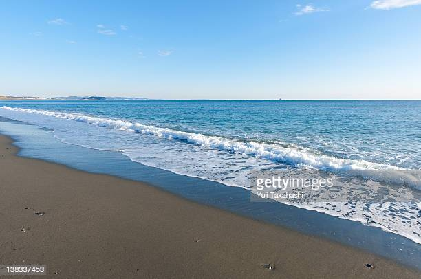 Southern beach in Shonan