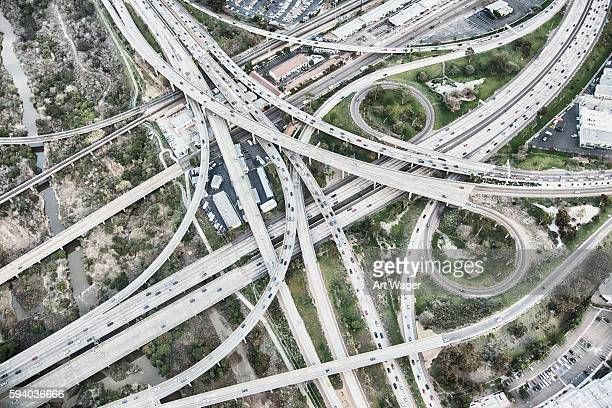 Southern California Freeway Interchange