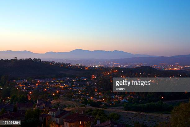 Southern California Suburb landscape