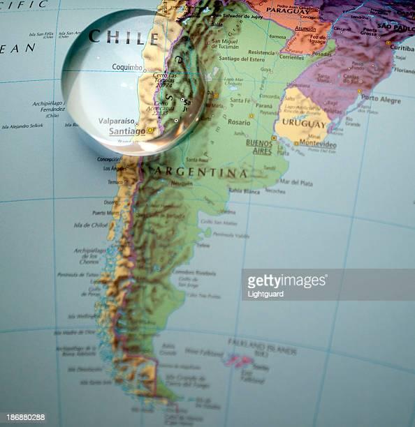 Sul da China e da argentina