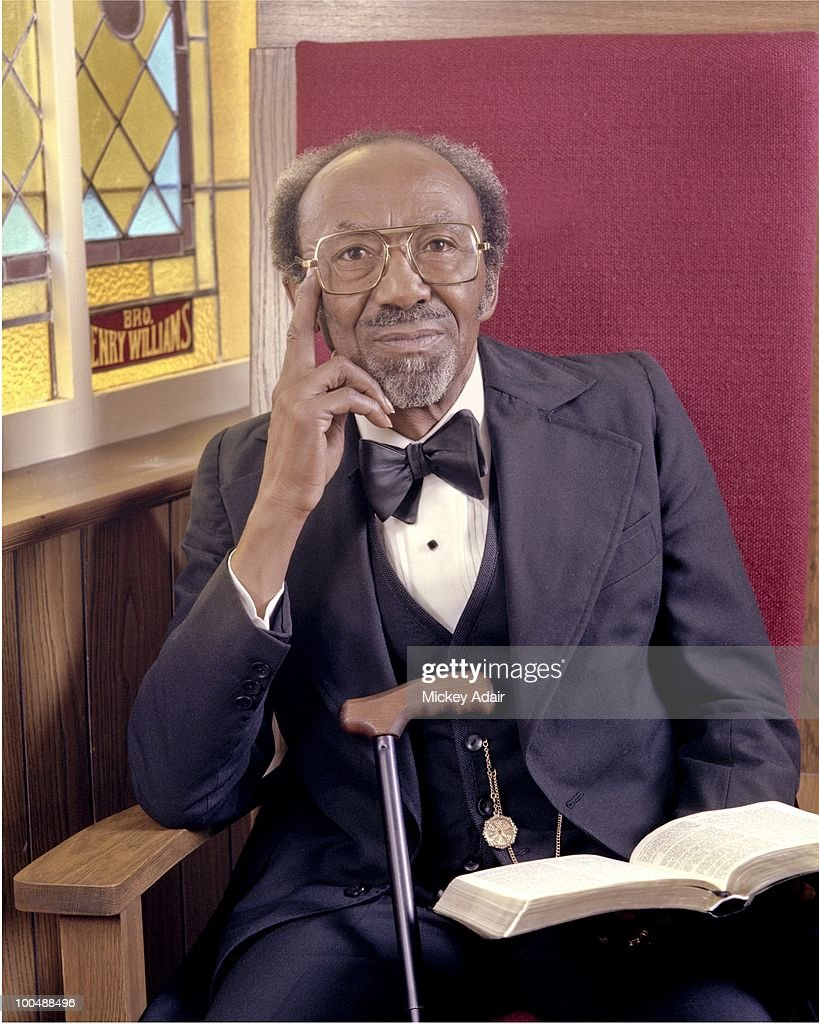 Southern Christian Leadership Conference co-founder Rev. C. K. Steele poses in 1979 in Tallahassee, Florida.