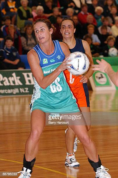 Southern Stings Tania Dalton was player of the day during the National Bank Cup netball against Counties Manakau Cometz at Invercargill The Sting...