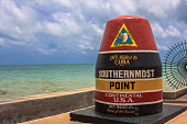 Southernmost USA south point to Cuba key west