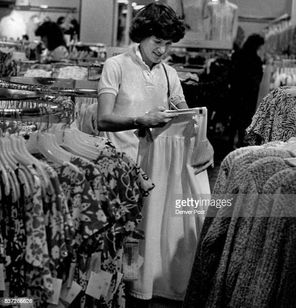 Southglenn Mall Asbestos Removal And Renovation Work Shot Of a Customer Sharon Noble Doing Her Shopping At The May DF Credit The Denver Post