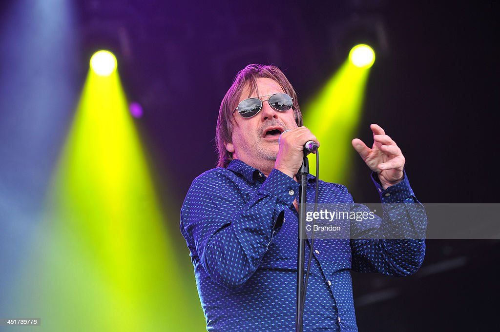 Southside Johnny & The Asbury Jukes perform on stage at the Cornbury Music Festival at Great Tew Estate on July 5, 2014 in Oxford, United Kingdom.
