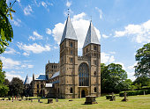 Southwell Mister and Romanesque Cathedral in Nottinghamshire, England, UK.