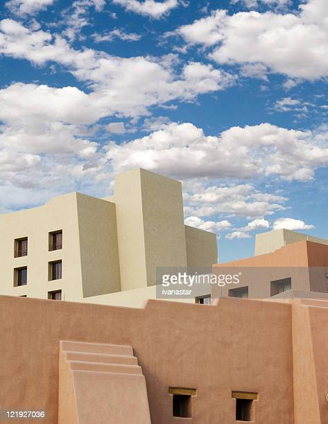 Albuquerque new mexico stock photos and pictures getty Building an adobe house