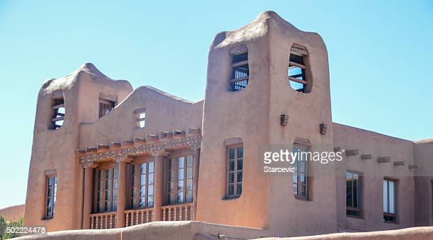 Pueblo stock photos and pictures getty images for Southwest architecture