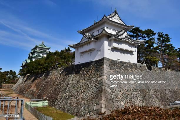 Southwest Corner Tower and Main Tower, Nagoya Castle, Nagoya, Japan