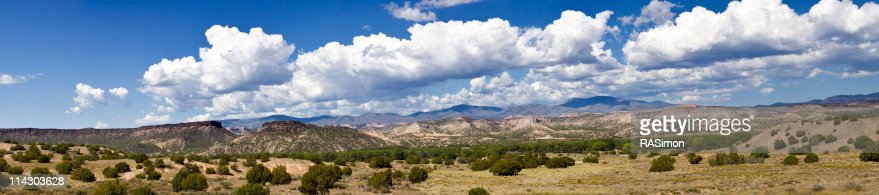 Southwest Desert Panorama