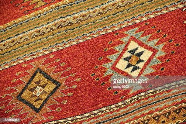 Navajo mexikanische Teppich Decke im Stil des amerikanischen Südwestens