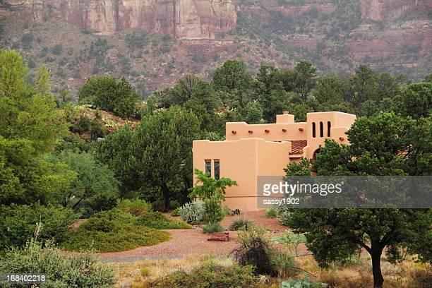 Southwestern Santa Fe Style House