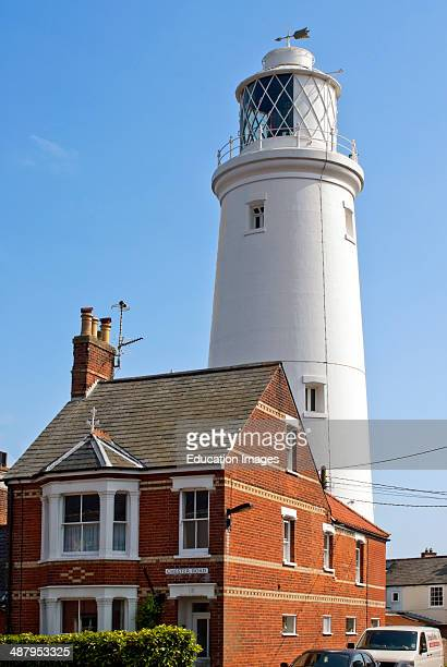 Southwold lighthouse was constructed in 1887 by Trinity House It stands as a landmark in the center of the town It replaced three local lighthouses...
