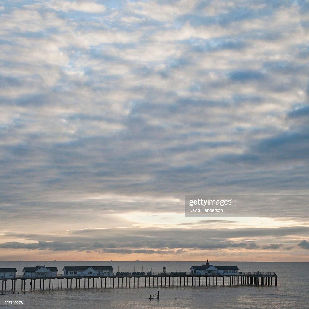 Southwold pier : Stockfoto
