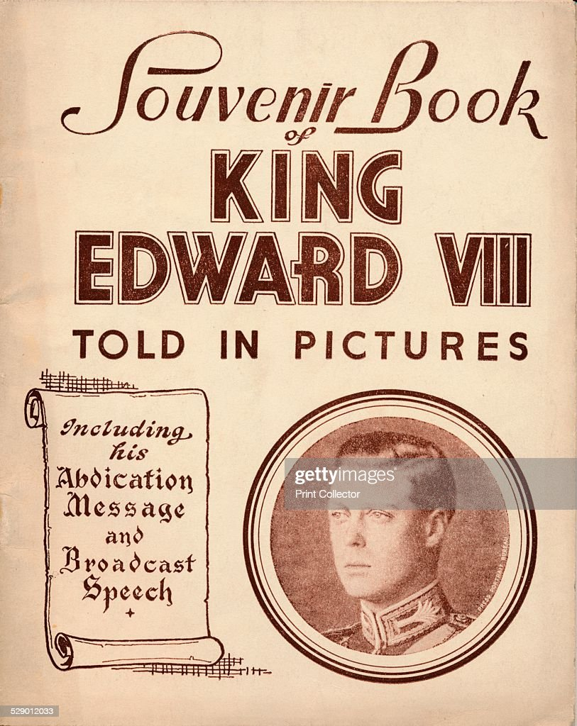 Told in Pictures 1937 Edward ruled from ruled 20 January 1936 until 11 December 1936 He abdicated in order to be with the woman he loved an American...