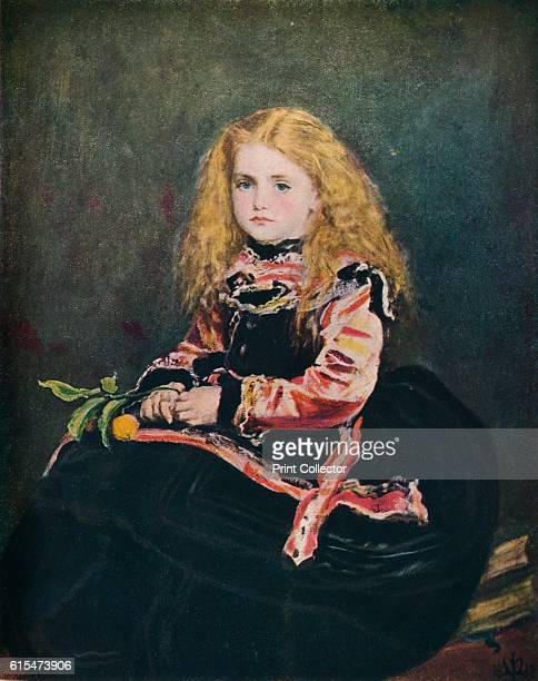 Souvenir by Velazquez' 1868 After Diego Velazquez Portrait of the Infanta Margaret Theresa of Spain daughter of Philip IV of Spain The painting is...