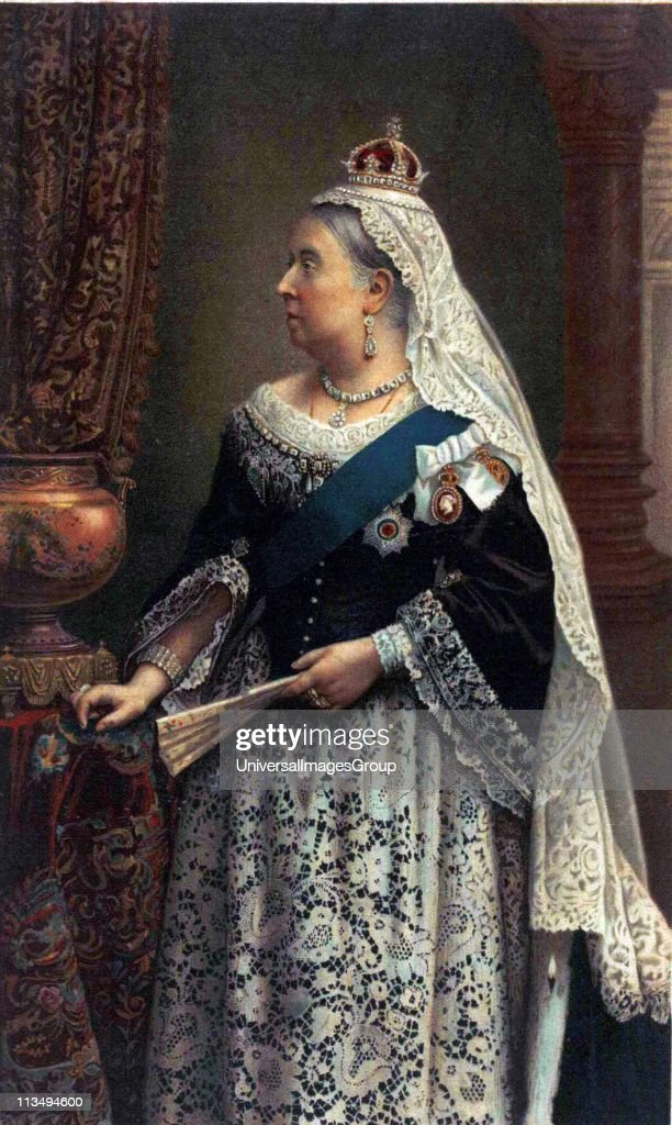 souvenir portrait of Queen Victoria