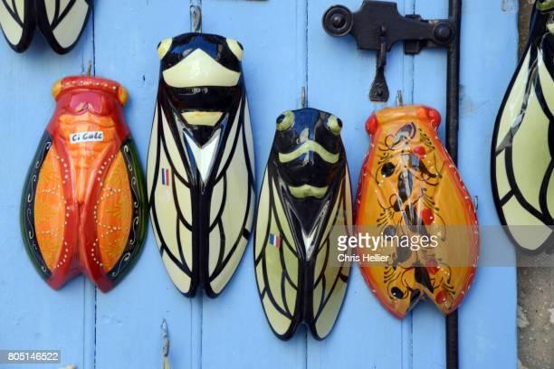 Souvenir Pottery Cicadas for Sale Les Baux-de-Provence Provence